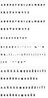 double feature font dafont com