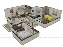 Architectural Design Floor Plans Architectural 3d Floor Plan Services 3d Floor Plan Rendering