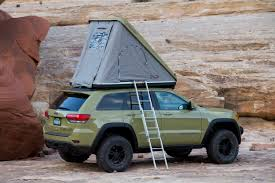 wrecked black jeep grand cherokee the jeep grand cherokee overlander concept what it u0027s like to