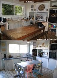 travaux cuisine travaux avant après rénover une vieille cuisine à moindre coût