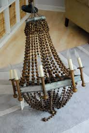 Beaded Wood Chandelier 100 Beaded Wood Chandelier A New Beaded Chandelier From