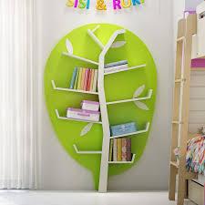 bibliotheque chambre enfant chambre verte et blanche 6 meuble bibliotheque de rangement forme