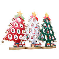 Wooden Christmas Decorations Bulk mini wooden christmas tree decorations bulk prices affordable