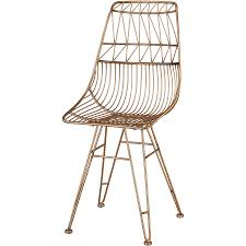 sterling industries jette accent chair in gold geometric