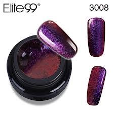 elite99 3d chameleon glitter brush uv led gel nail polish glitter