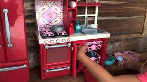 Big Barbie Dollhouse Tour Youtube by American Doll Kitchen Haul Youtube Unique Furniture Images 47