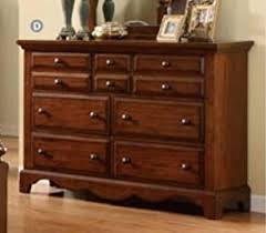 Solid Wood Bedroom Dressers Amazon Com Palm Coast Solid Wood Light Walnut Finish Bedroom