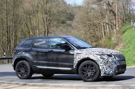 modified range rover evoque 2019 range rover evoque mk2 to get heavy velar influence road