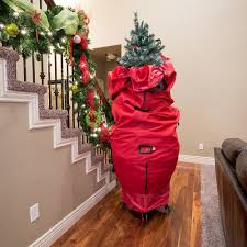 santa s bags sb 10100 6 9 foot upright tree storage bag