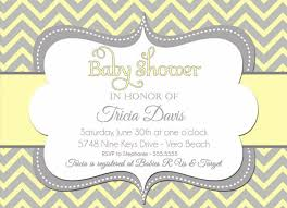gender neutral baby shower invitations home theme