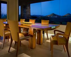 custom dining table contemporary dining room phoenix by