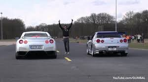 nissan r34 paul walker nissan skyline gt r34 mines stage 2 vs nissan gt r switzer