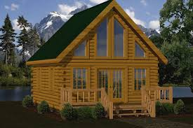 log home floor plans with loft small home kits small log cabin kits floor plans cabin series from