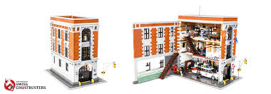 Lego Headquarters Swiss Ghostbusters Who You Gonna Call Lego Ghostbusters