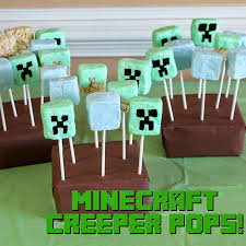doodlecraft minecraft birthday party food