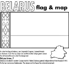 belarus coloring page crayola com