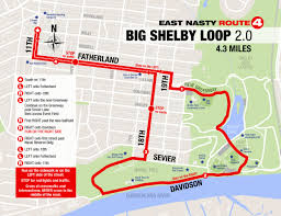 Map A Running Route by East Nasty East Nashville Running Community
