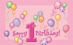 1st birthday birthday pink high chair kit