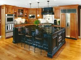 custom kitchen island ideas retreat in the woods renovation traditional kitchen