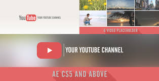 25 after effect templates for youtube free u0026 premium templates