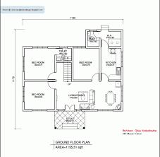 Kerala House Plans Single Floor Remarkable Kerala House Plans 1200 Sq Ft With Photos Khp House