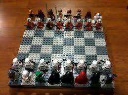 cool chess set awesome star wars lego chess set geektyrant