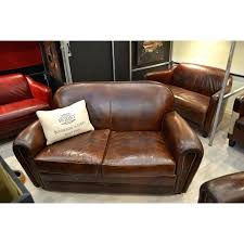 canap 2 places marron articles with canape chesterfield 2 places cuir marron tag canape 2