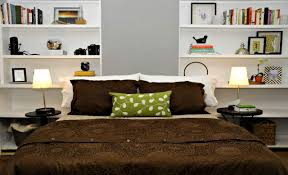 Cool Shelf Ideas Simple Bedroom Shelves Ideas With Two Sided Open Shelves