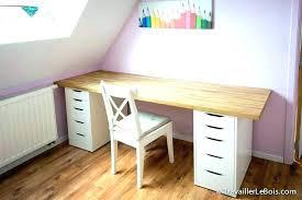 bureau bois ikea table bureau bois gallery of bureau ikea micke blanc avec micke d