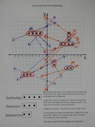 i is a number slope intercept form battleship maths ideas