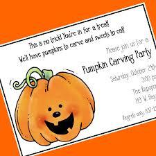 pumpkin carving party invitation kawaiitheo com