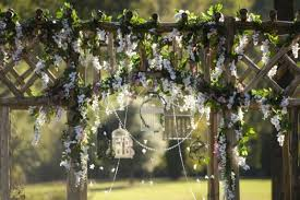 wedding arbor used real nc wedding rustic chic wedding in pinehurst nc southern