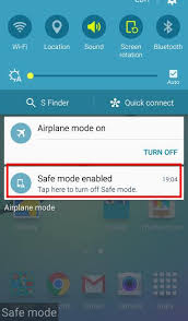how to take safe mode android how to use samsung galaxy s6 safe mode galaxy s6 guide