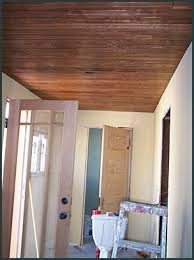 Pine Beadboard Paneling - our back porch rebuild 1912 bungalow