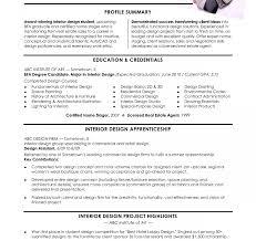 resume for internship sles resume for interior design internship best accessories home 2017