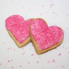 heart shaped cookies heart shaped cookies collection pink favor