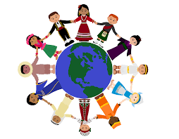 image of around the world clipart 3241 holding globe of