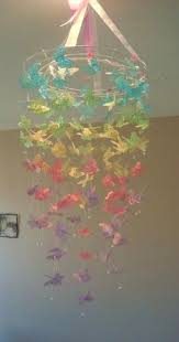Butterfly Chandelier Butterfly Mobile Diy Chandelier Easy Video Tutorial Paper