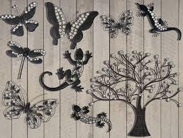 wall art ideas design sample metal garden wall art animal