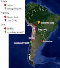 Google Maps Argentina Fig 1 Map Showing Study Sites Located In The Chiquitano Model