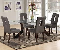 simple casual dining table glass wall modern italian furniture casual dining table sets fiberglass