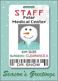 sw 00745 industry specific christmas card for the medical industry