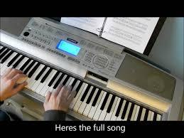 spongebob squarepants tutorial theme song ending piano hd one of