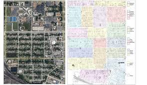 Odu Parking Map Land Use Lambert U0027s Point