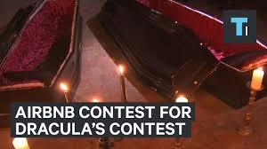 airbnb u0027s contest to spend halloween night in dracula u0027s castle