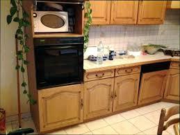 peindre meuble de cuisine meuble cuisine en chene ordinaire repeindre une cuisine en chene