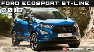 2018 ford ecosport st line review rendered price specs release