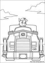 99 paw patrol coloring pages images coloring