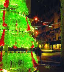 recycled soda bottles make for a stunning christmas tree bit rebels