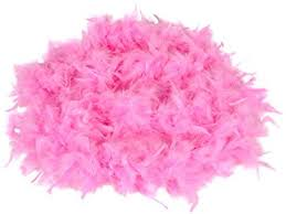 turkey feather boa pink feather boa 7ft dress up costume pink boa